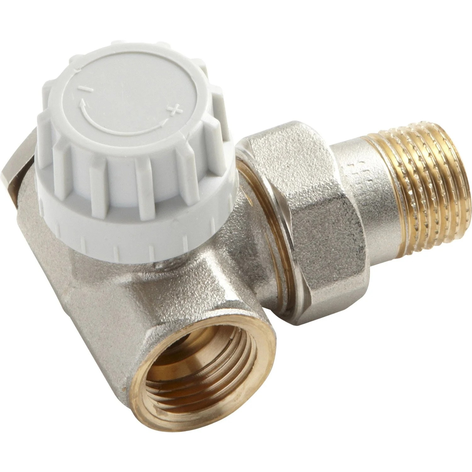 Robinet Thermostatique Equerre Inversee 1 2 Male Femelle
