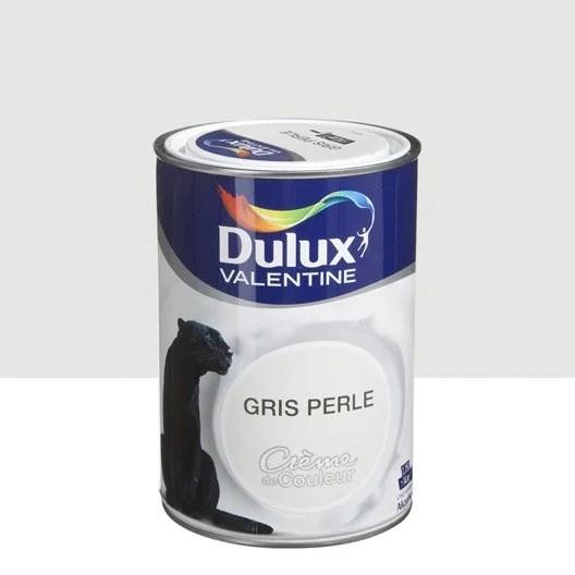 Peinture Gris Perle DULUX VALENTINE Crme De Couleur 125