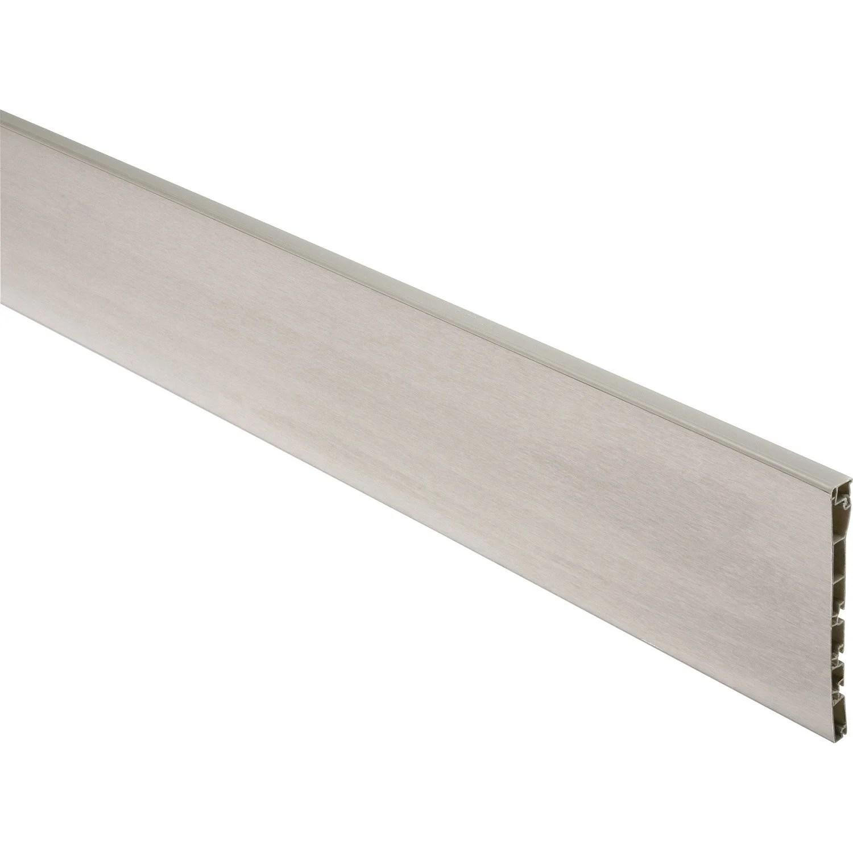 plinthe reno plinthe aluminium brosse
