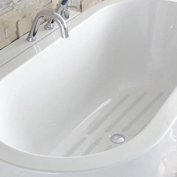 pastilles antiderapantes blanc pour baignoire douche grip