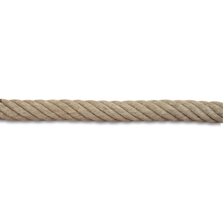 Corde De Rampe Chanvre Torsadee Diam 32 Mm X L 1 M Leroy Merlin