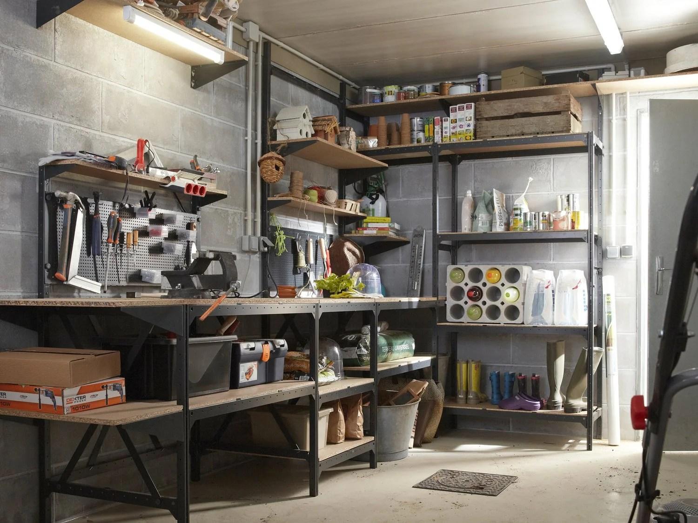 rangement cave garage venus et judes