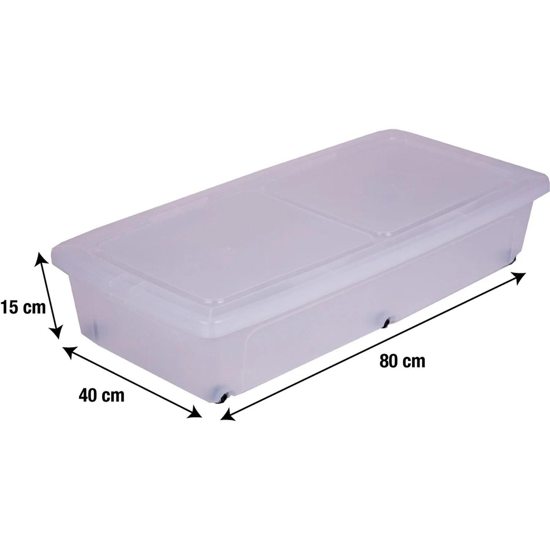 boite rangement sous lit hauteur 10 cm