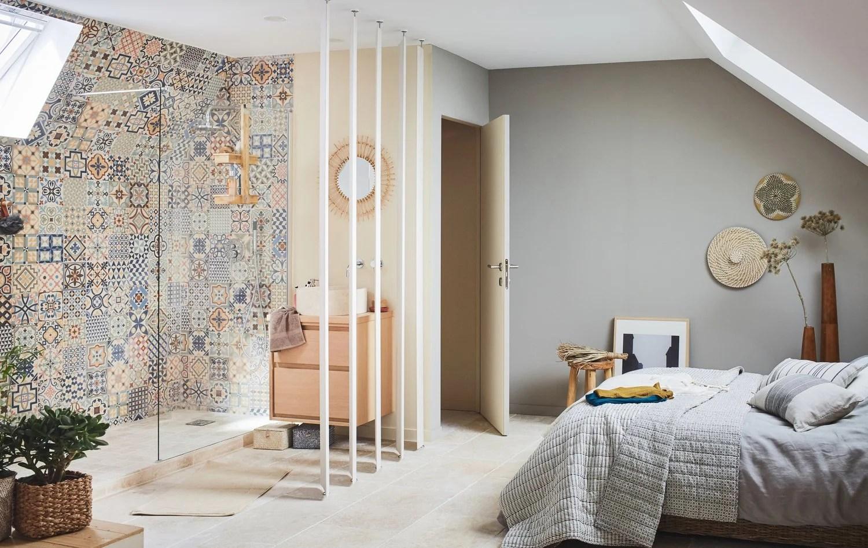 Emejing Salle De Bain Chambre Ouverte Ideas - House Interior ...