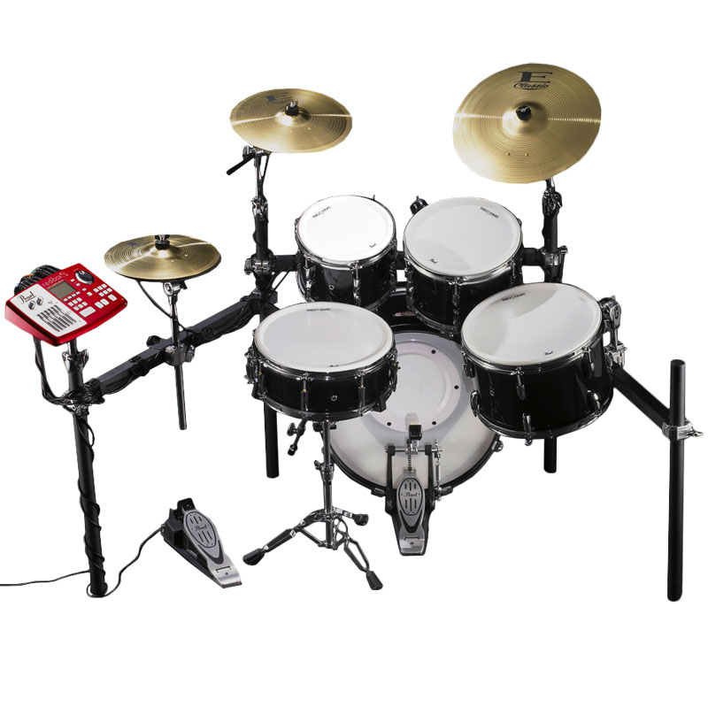 Pearl EPAD 25S Electronic Drum Set with 10 12 14 16  Tru Trac Heads         Alternate Image for Pearl EPAD 25S Electronic Drum Set with 10 12 14