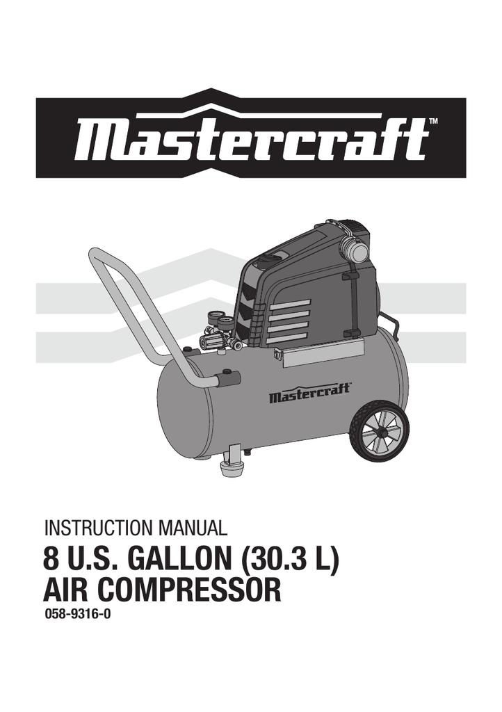 Air Compressor Instruction Manual