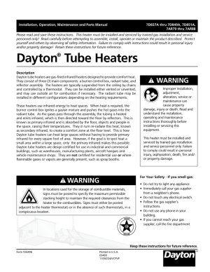 Dayton 7D837A Troubleshooting guide | manualzz