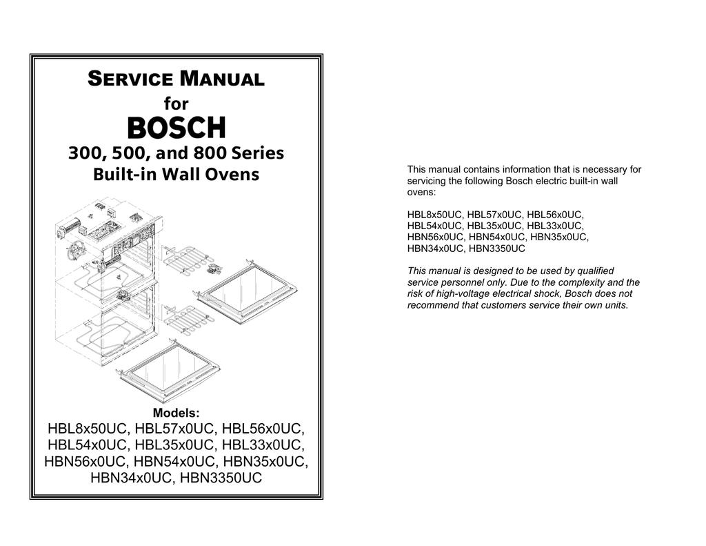 bosch hbl56 service manual manualzz