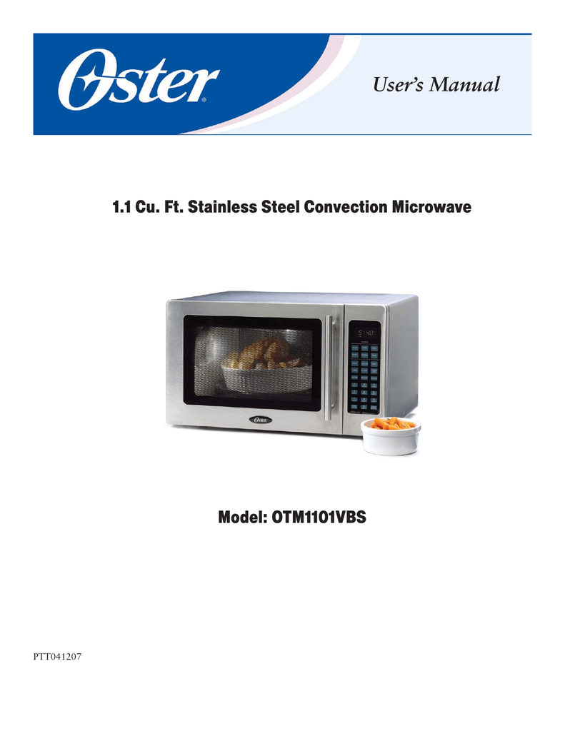 oster otm1101vbs convection oven user