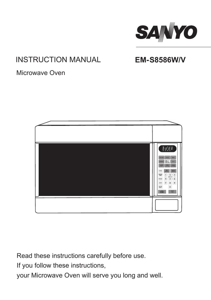 sanyo em s8586w em s8586v user manual