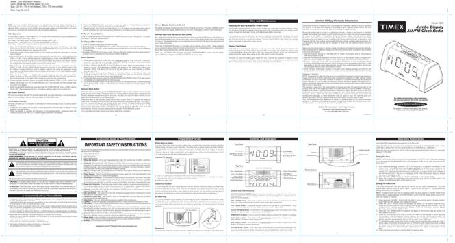 Timex T235 User S Manual Manualzz