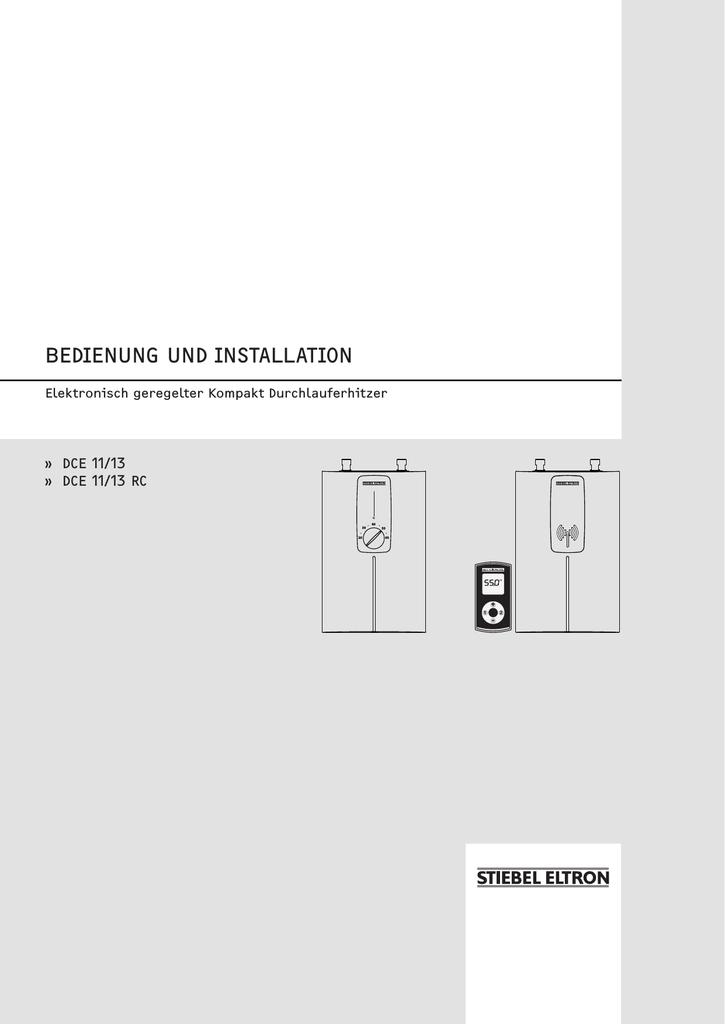 Bedienung Und Installation Manualzz
