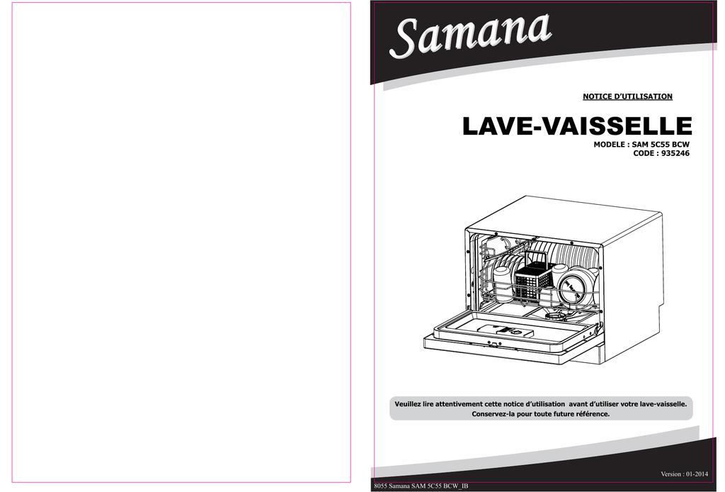 Lave Vaisselle Electro Depot Manualzz
