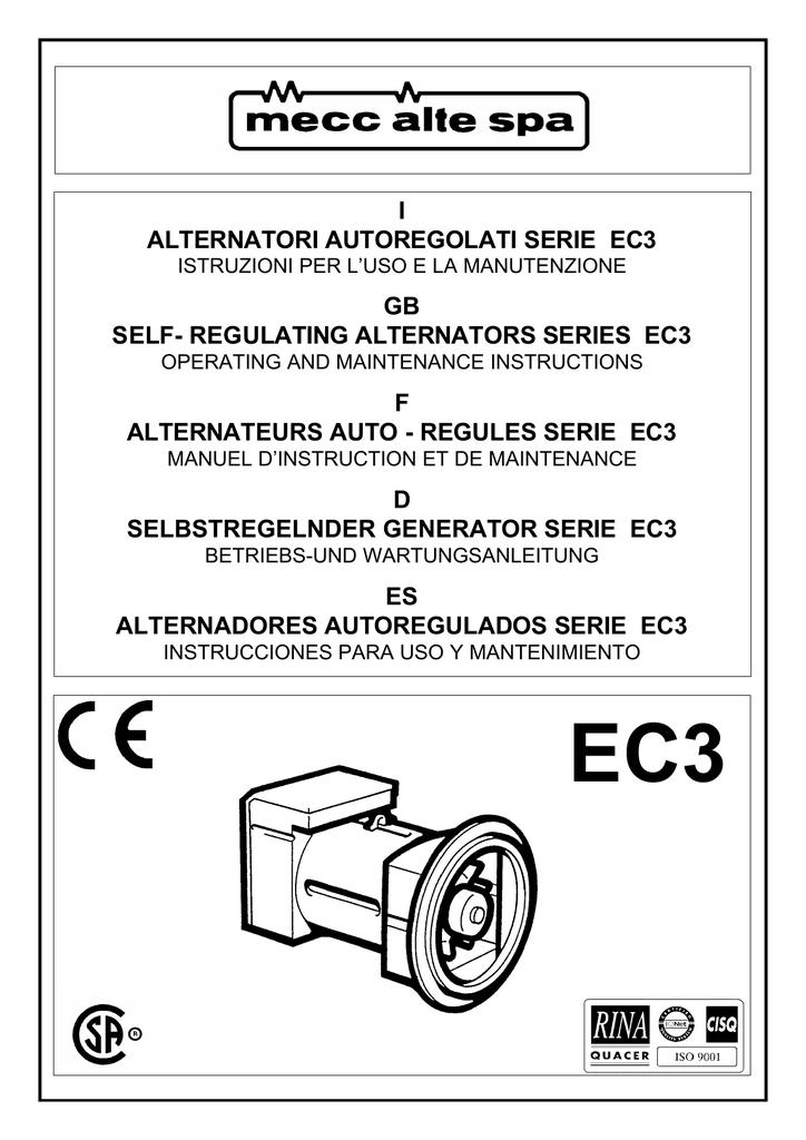 i alternatori autoregolati serie ec3 gb