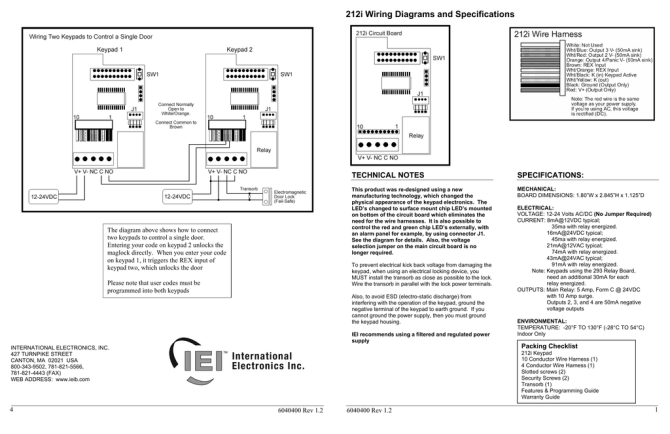 212i wiring diagrams and specifications  manualzz