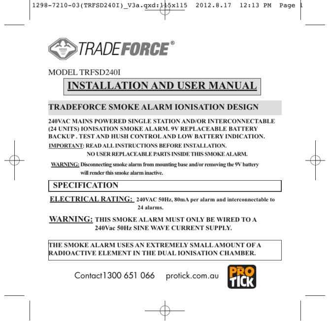 installation and user manual  manualzz