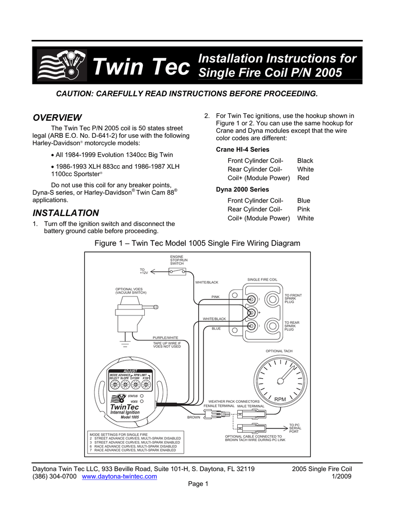6401 Msd Ignition Wiring Diagram Ford Detailed Diagrams Tach To 6al Crane Reveolution Of U2022 Schematic