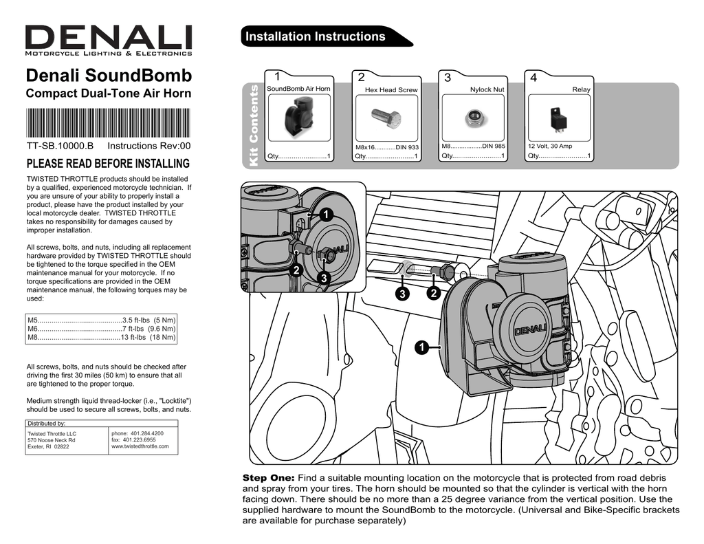 Denali Horn Wiring Diagram