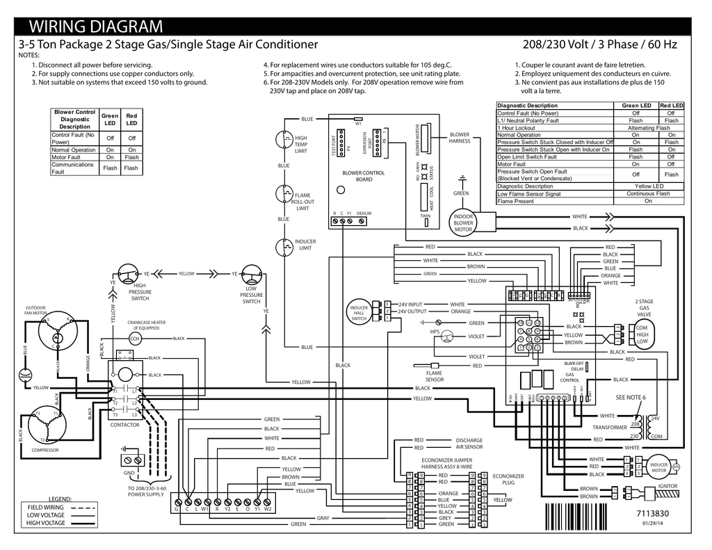 208v Three Phase Wiring Diagram