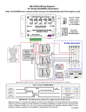 Wiring Diagram For Honda Generator | Wiring Diagram