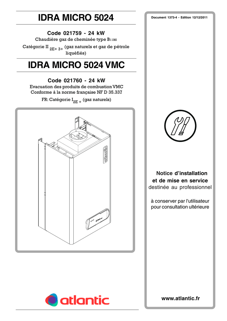 Idra Micro 5000 Notice Pro Manualzz