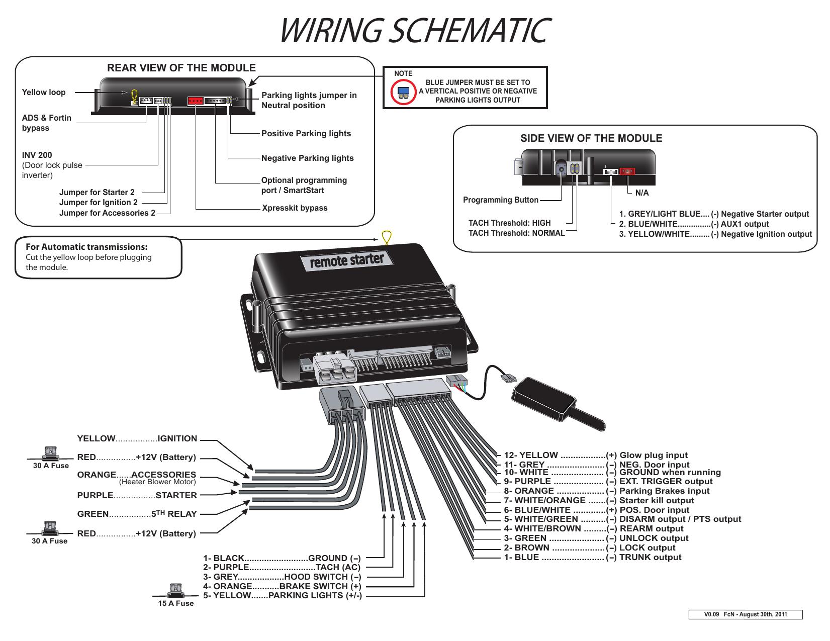 Prostart Remote Starter Wiring Diagram