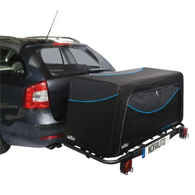 transport coffre d attelage moving box 500 l norauto pour moving base