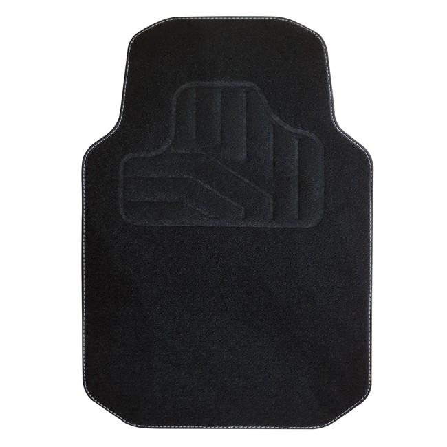 tapis tapis universels 1 tapis avant de voiture universel noir moquette norautodescription