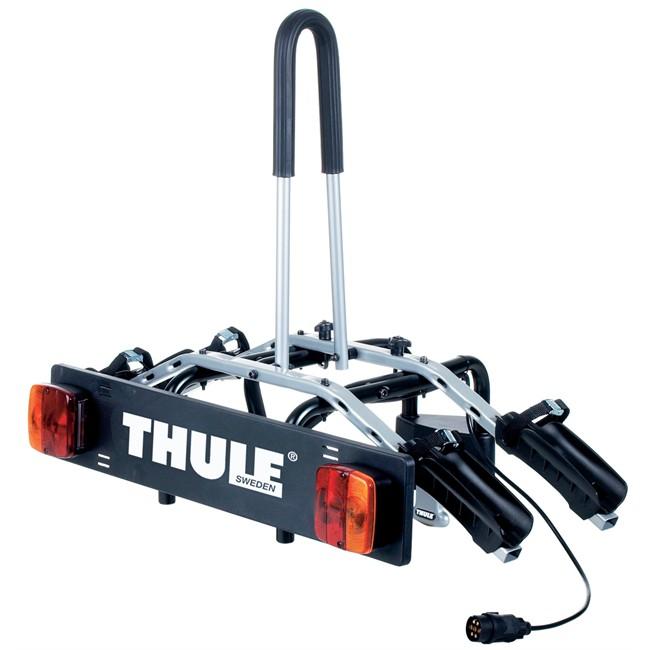 porte velos d attelage plate forme thule rideon 9502 pour 2 velos norauto fr