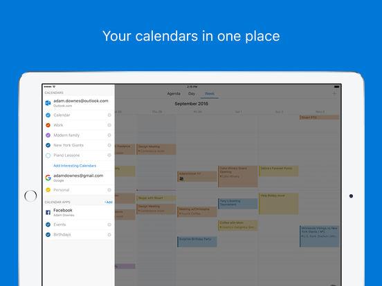 Microsoft Outlook - email and calendar Screenshot