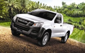Isuzu DMax Single Cab  4X2 and 4X4, from RM60k