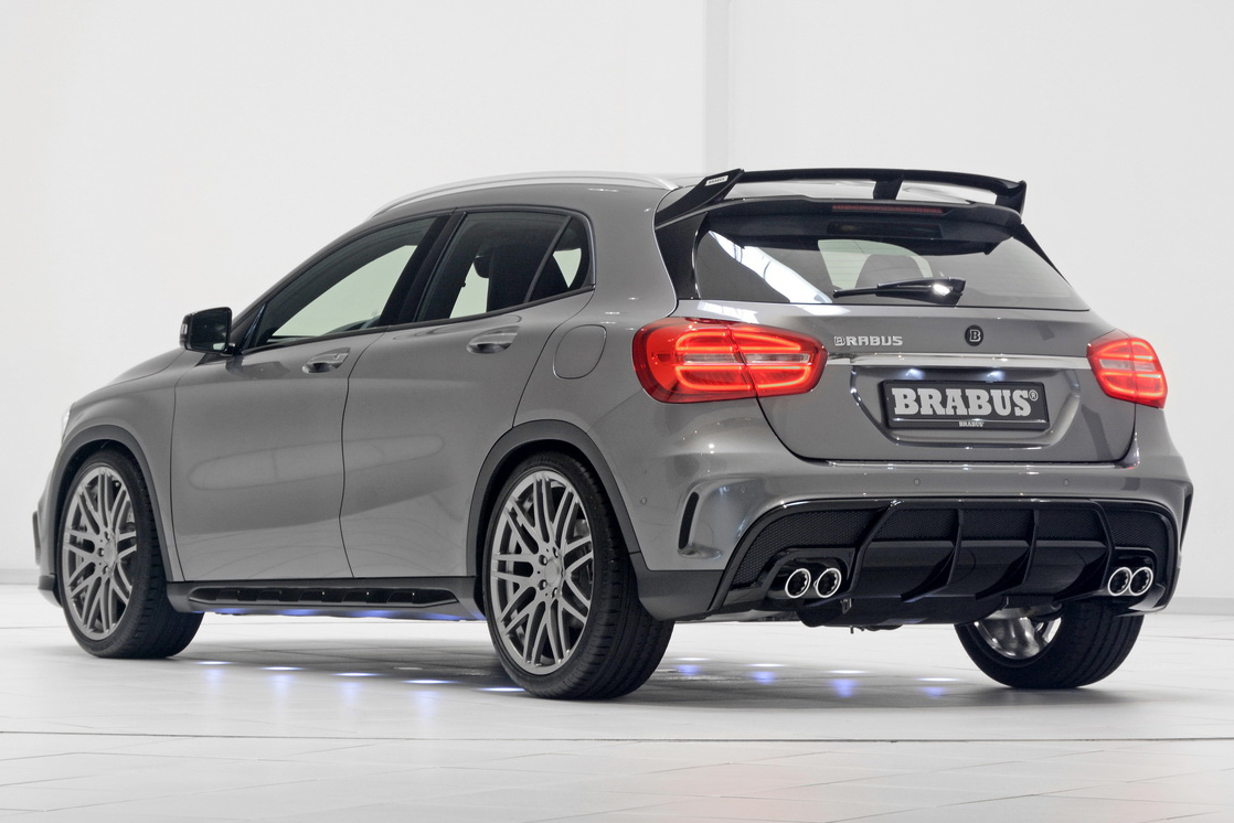 Brabus Tunes Mercedes Benz GLA Class Up To 400 Hp Image