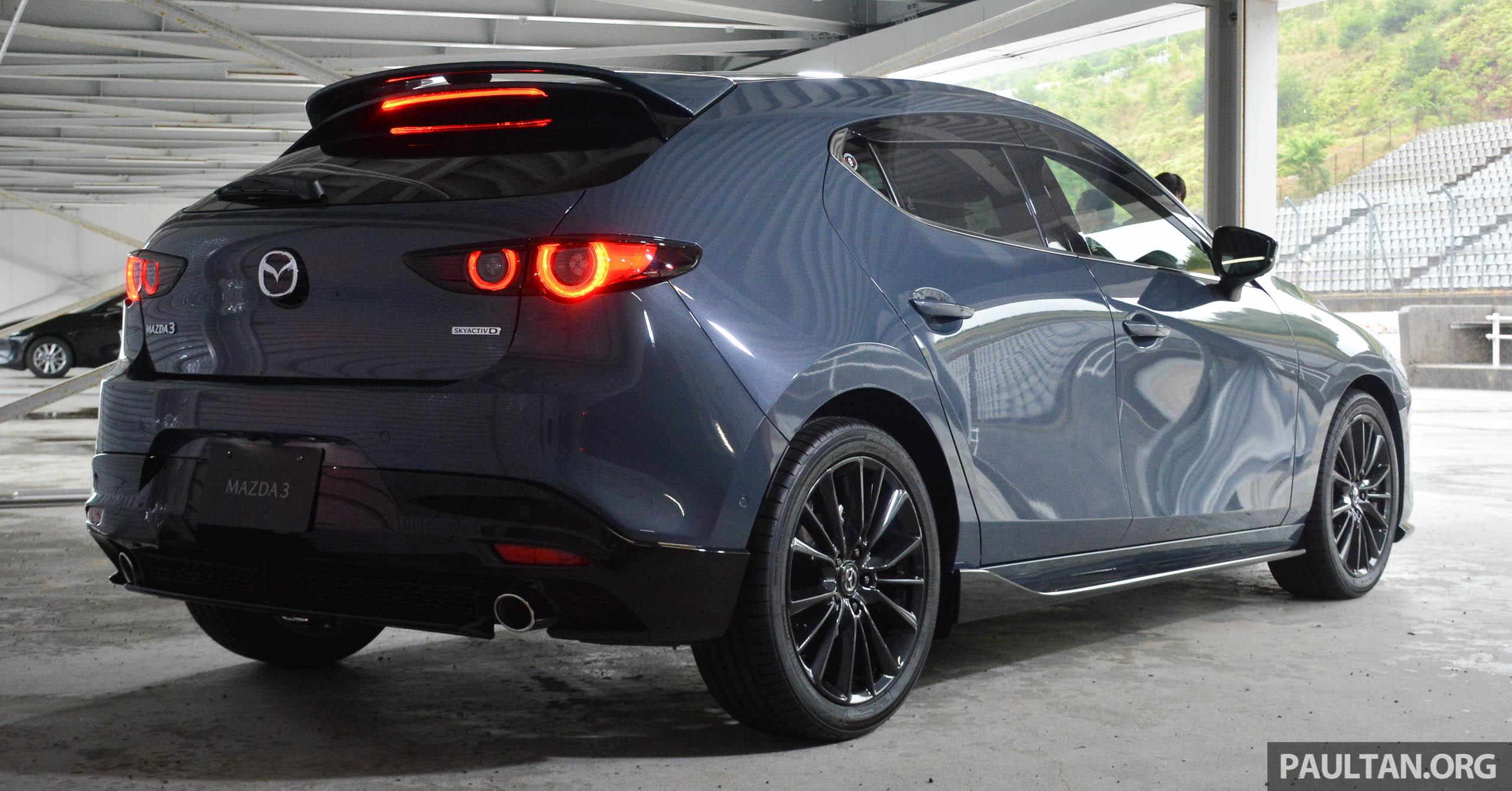 2019 mazda 3 hatchback body kit japan