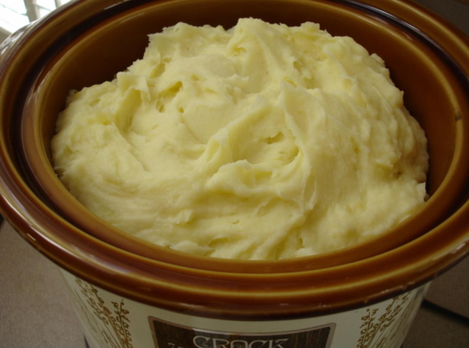Making Mashed Potatoes Crock Pot