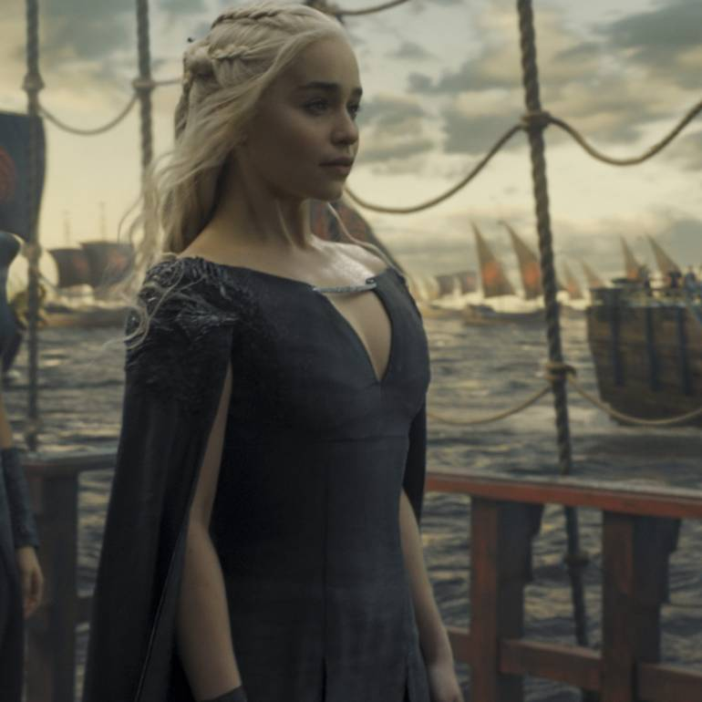 Image result for daenerys targaryen sails to westeros dress