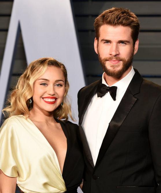Miley Cyrus married Liam Hemsworth
