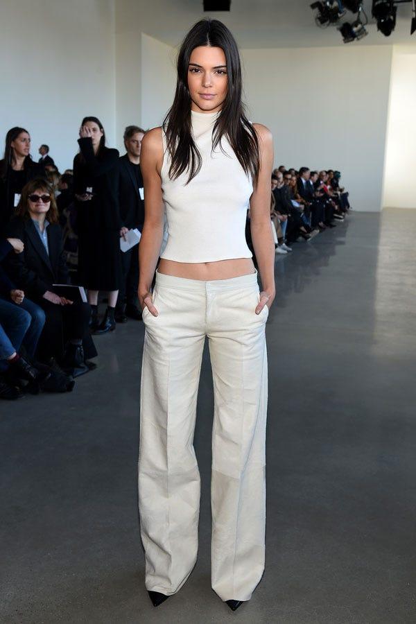 Kendall Jenner Outfit Velvet Boots Fringe Jacket