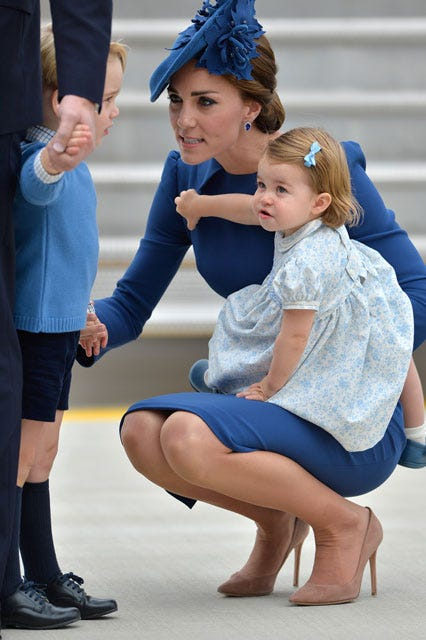 Princess Charlotte First Royal Tour Canada Photos