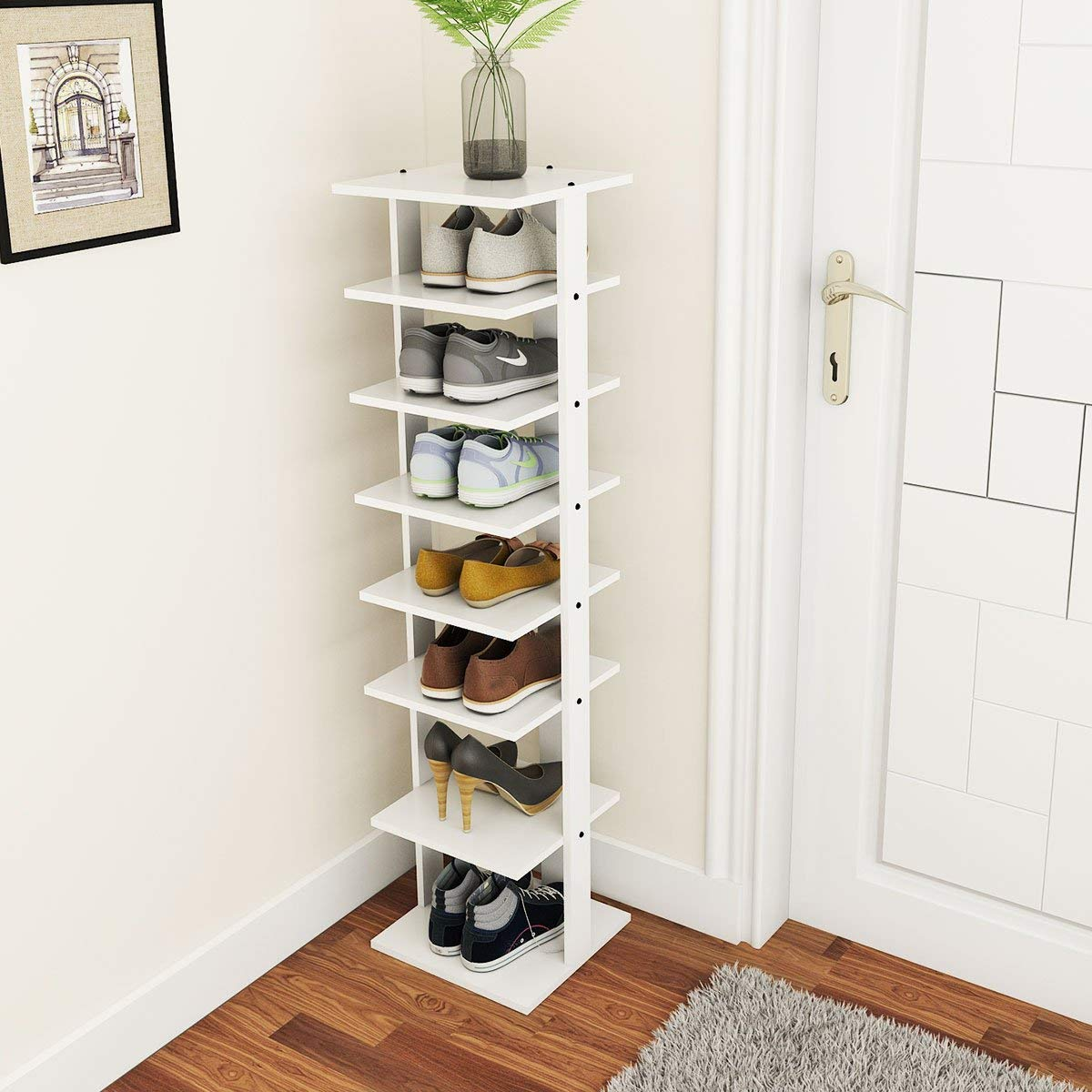 entryway shoes storage stand