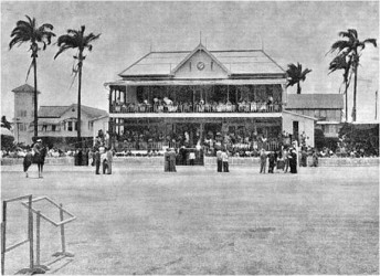 Undated photo of Georgetown Cricket Club, Bourda