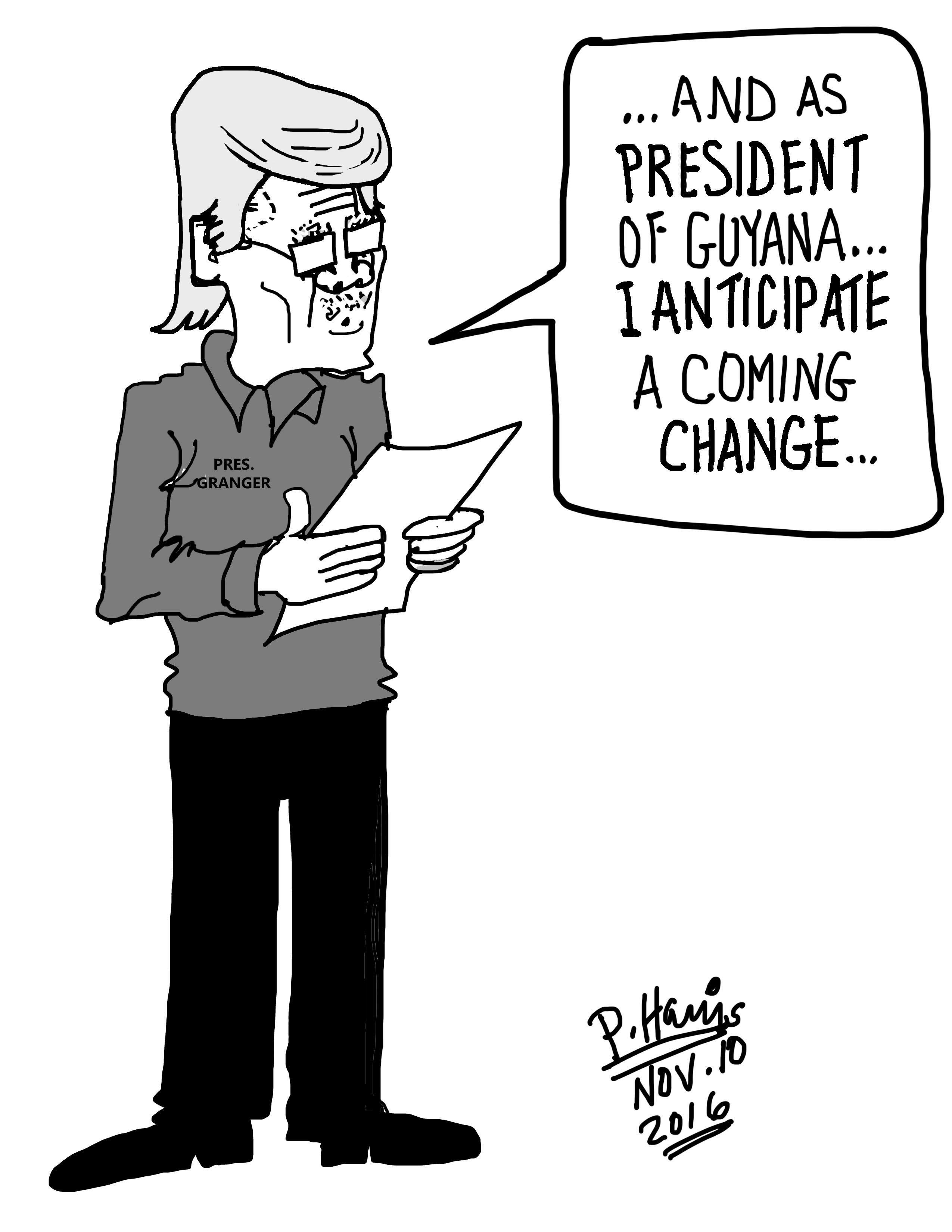 Daily Cartoons Stabroek News