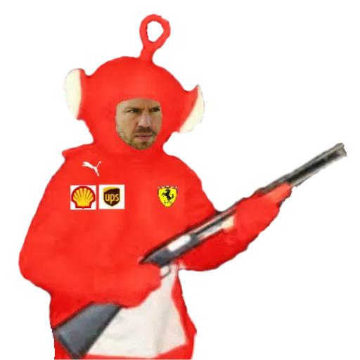 F1 Teletubbies Every Team Whatsapp Stickers Stickers Cloud