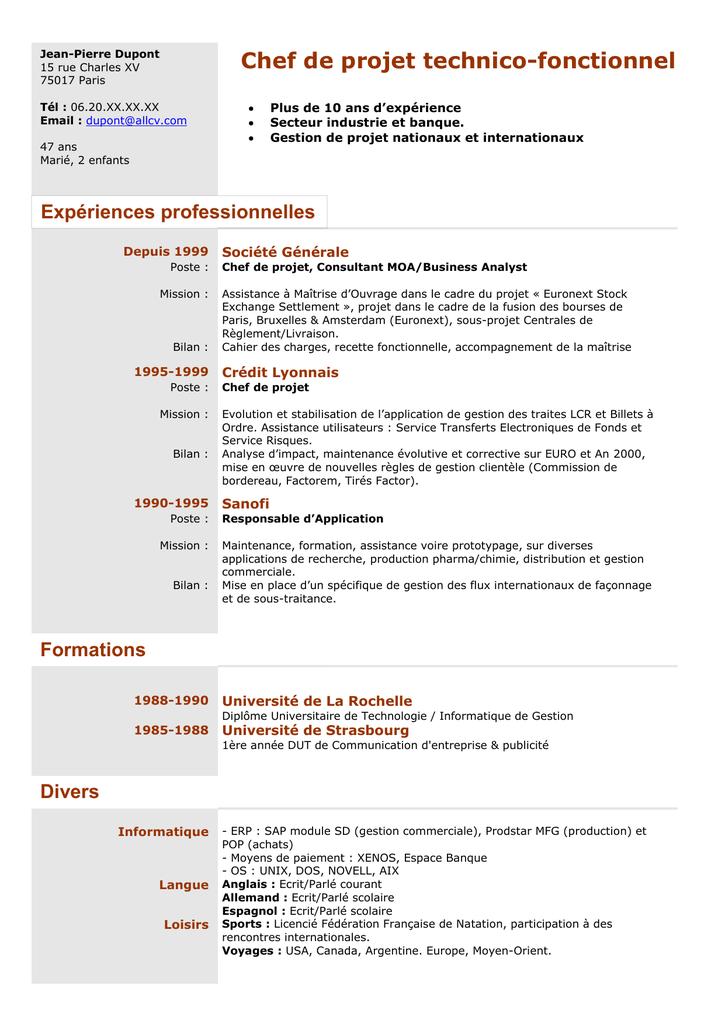 Exchange Consultant Cv April 2021