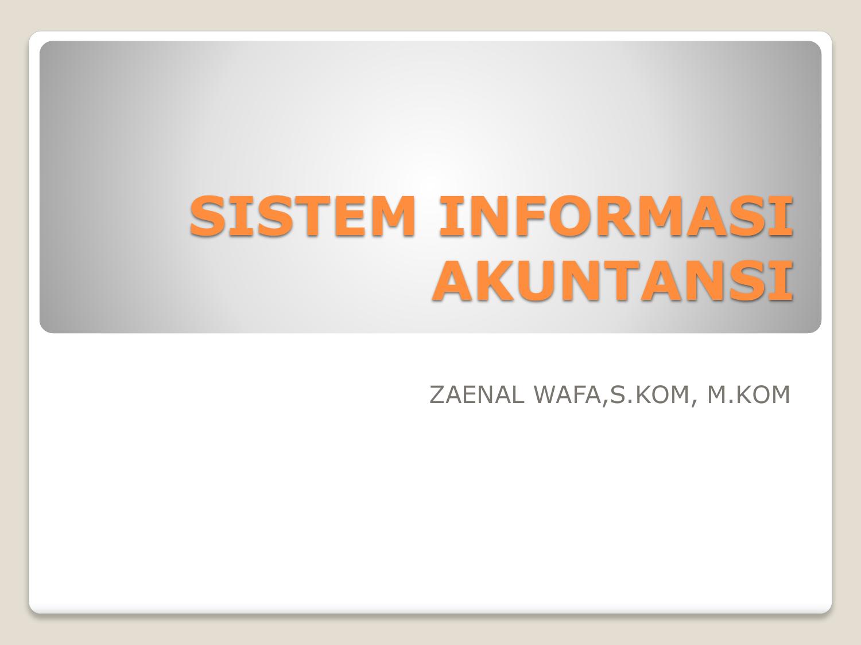 Apa Itu Sistem Informasi Akuntansi Sia