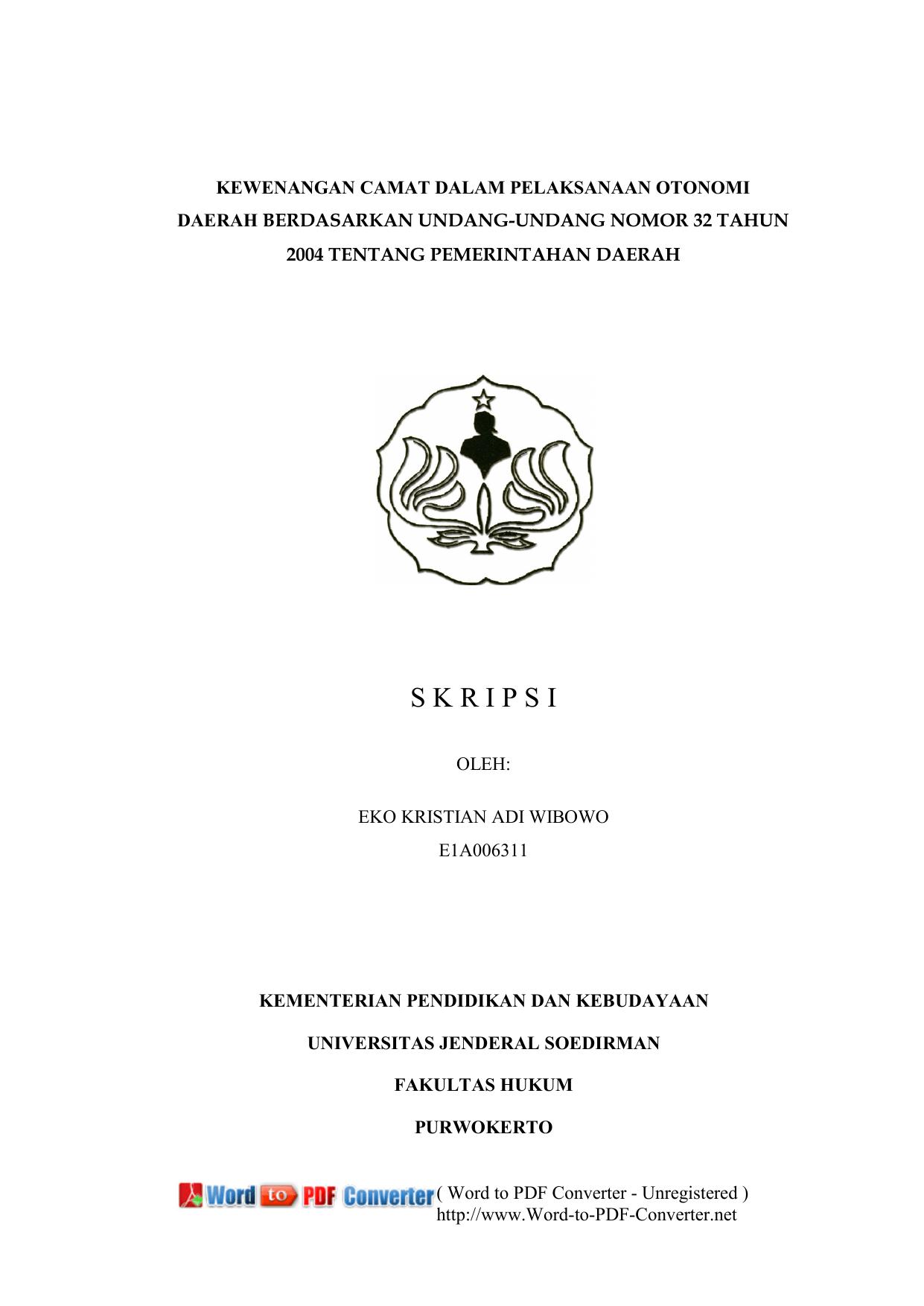 15 Judul Skripsi Normatif Hukum Perdata