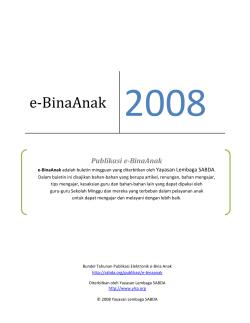 E Binaanak 2008 Sabda