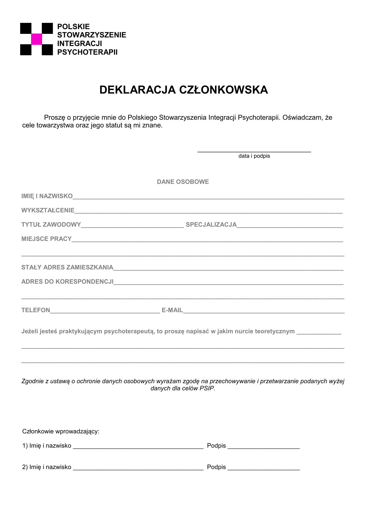 Polskie Towarzystwo Terapii Poznawczej I