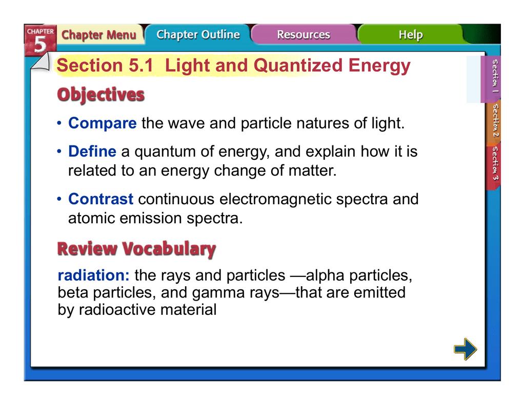 Waves Particles Worksheet