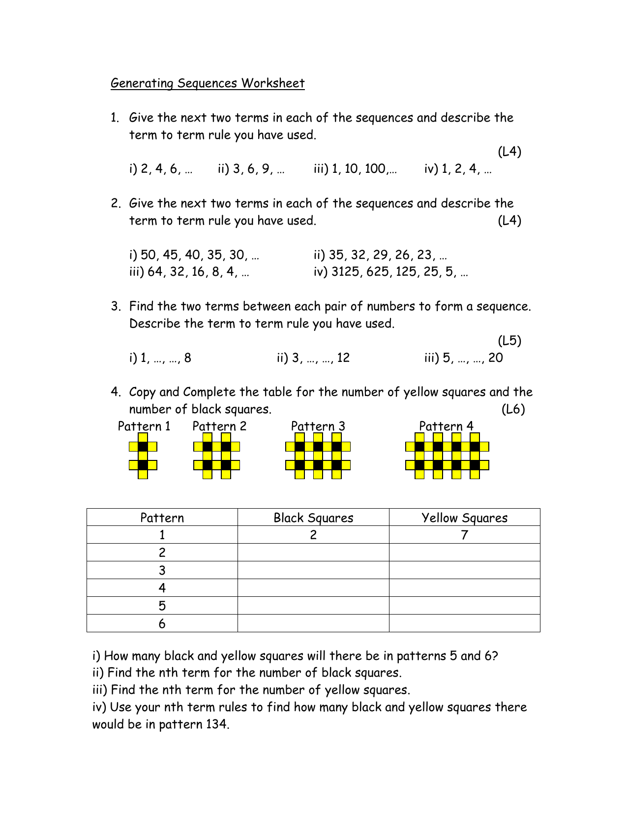 Find The Next Pattern In The Sequence Images