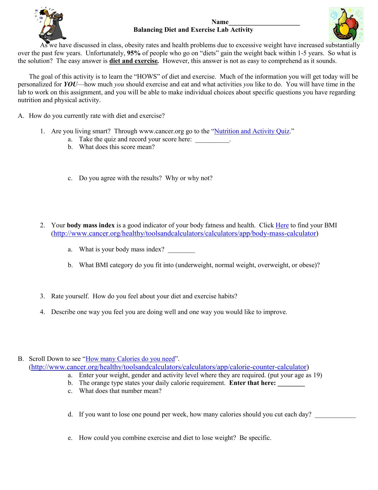 Bill Nye Nutrition Quiz